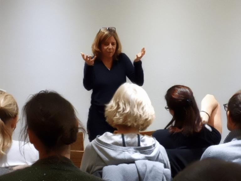 Charlotte Wils en conférence à Genève